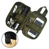 Outdoor Tactical Waist Bolsa Storage Phone Bolsa para telefone inferior a 6,5 ​​polegadas