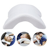 6 In 1 Slow Rebound Pressure Pillow Memory Foam Ice Silk Hand & Neck Protection Pillow