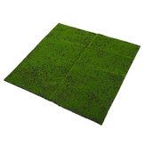 Grama artificial do musgo da parede do cair da paisagem de 1 * 1m micro decorações Planta home do gramado