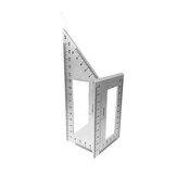 Многофункциональная линейка с квадратным углом 45/90 градусов для измерения деревообработки Инструмент