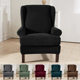 Protetor de estiramento Wingback Slipcover Recliner Wing Arm Chair Sofa Cover