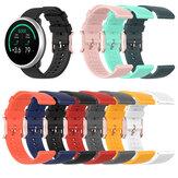 Bakeey 20mm puntpatroon siliconen slimme horlogeband vervangende riem voor POLAR Ignite / Amazfit BIP / Huawei horloge GT 2 42MM