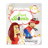 15Pcs Funny Fart Bags Stink Smelly Funny Gags Practical Jokes Novelties Toys April Fool's Day Tricky Toys