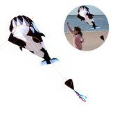 Outdoor 3D Wieloryb Software Latawiec Cartoon Animal Kites Single Line With Handle
