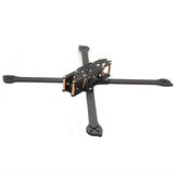 HSKRC XL5/6/7/8/9 232/283/294/360 / 390mm Koolstofvezel FPV Racing Frame-set voor RC Drone