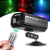 9W 48 patrones RGB Proyector LED Láser Luz de escenario DJ Disco KTV Fiesta en casa Lámpara Decoración AC100-240V