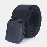 120cm 3.8cm Nylon Waist Belts Zinc Alloy Tactical Belt Inserting Buckle