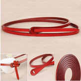 110CM Durable Womens Belt Fashion Design Vintage Cowhide Genuine leather Belts