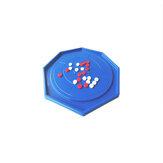 48x48cm Crokinole Brettspiel Puzzle für Erwachsene Kinder Familie spielen Tischplatte