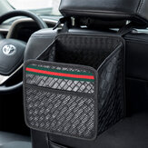 Car Seat Back Storage Bag Waterproof Leather Durable Multifunctional Storage Box