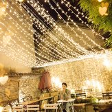 4M * 0.6M Waterproof Warm White 96 LED String Light String per decorazioni natalizie di Natale AC220V