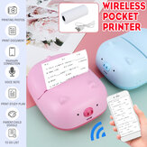 Wireless Mini Label Printer Portable Thermal Label Printer Pocket Label Maker La