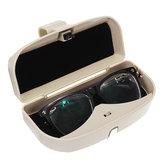 Archiviazione per auto Sun Visor Clip Holder Scatola per custodia per occhiali da sole Occhiali