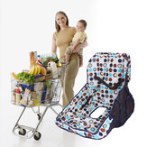 Baby Shopping Trolley Cart Cover Seat Protective Pad Kid Dining Chair Cushion
