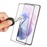 Bakeey voor Samsung Galaxy S21 Ultra 5G / Galaxy S21 + 5G / Galaxy S21 5G Frontfilm 3D gebogen rand HD Anti-explosie Volledige lijm Volledige dekking Gehard glas Screenprotector