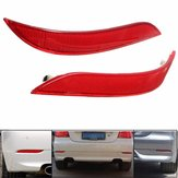 Paar Rood Rear Bumper Reflector Light voor BMW 5 Series E60 525i 528i 530i 535i 545i