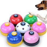 Pet Press Jingle Dog Cat Trainer Pet Intelligence Toy Impronte Premi Campane Dog Paw Stampe Suoneria