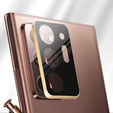 Bakeey 2 in 1強化ガラス+メタルサークルリングアンチスクラッチ電話レンズプロテクターSamsung Galaxy Note 20 Ultra / Galaxy Note20用