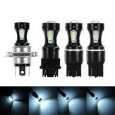 2pezzi1156BA15S1157BAY15D T20 7440/7443 T25 3157 H4 LED Car Turn Lights Nebbia lampada Barke Bulb
