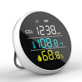 Bakeey DM1305 CO2 Detector Temperature Humidity Meter Air Quality Monitor Multifunctional For Home