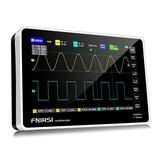 FNIRSI 1013D Tablet digital de 7 polegadas com 2 canais Osciloscópio 100M de largura de banda 1GS / s Taxa de amostragem Resolução 800x480 Capacitor Tela Touch + Gesture Operation Osciloscópios