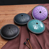 5.5 Inch 6 Notes Steel Tongue Drum Handpan Hand Tankdrum Instruments