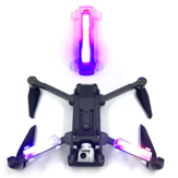1Pcs 3 Kleur HD Bright Night Flight Arm Light Bult-in Batterij voor FIMI X8 SE / Hubsan ZINO