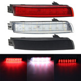 Pair LED Brake Tail Light Rear Bumper Reflector Lamp For Nissan Juke Murano Infiniti FX35 FX37