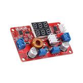 5A 75W Voltaje de corriente constante CC CV Módulo reductor Módulo reductor DC 5V-35V Voltaje y amperio Dual Pantalla