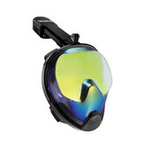 Nuoto Immersioni Snorkeling Maschera Full Face with Breath TubeSwim Dive Scuba Anti Nebbia
