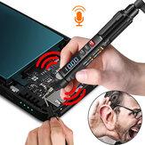 MUSTOOL MT007/MT007 Pro/MT007 Pro-EN True RMS digitale multimeter   spanningstestpen   fasevolgordemeter 3 in 1 kleurenscherm Spraakuitzending
