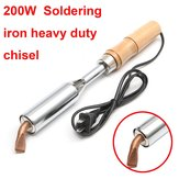 200W Soldering Iron Heavy Duty Chisel Point 200 Watt Craft Tools AC 220V