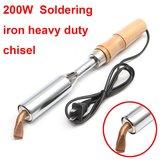 200W Lutownica Heavy Duty Chisel Point 200 watów Craft Tools AC 220V