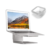 COOLCOLD U3 Laptop Stand Adjustable Lifting Computer Bracket with 360° Rotation Base for 11-15.6 Inches Laptops Computers