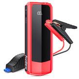 AUDEW 20000 mAh Car Jump Starter 1500A Powerbank met LCD-scherm Dubbele USB-uitgang QC3.0 Opladen