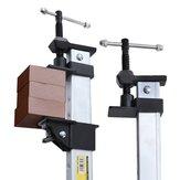 600-1500mm Barra paralela para carpintaria braçadeira F-Type braçadeira Serra de vaivém da placa de pressão de liga de alumínio braçadeira Fixa ajustável rápida braçadeira Carpintaria braçadeira