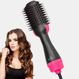 4 in 1 Air Hair Dryer Brush One Step Hair Blow Dryer Comb Volumizer Hair Fluffy Curler Straightener