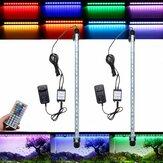 AC110-240V 48CM 7.2W RGB LED Aquarium Aquarium Licht Farbwechselbalken Tauchlampe + 44Keys Fernbedienung