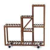 5-Tier Premium Wooden Planta Stand Rack de almacenamiento multipropósito Pantalla Maceta