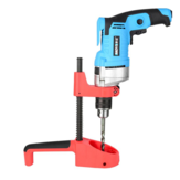 Drillpro Precision Guia de broca de ângulo de 90 graus Suporte de broca Vertical Furadeira vertical Press Stand para furadeira elétrica