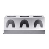 Stainless Steel 3 Holes Cup Bottle Holder Drainer Drying Rack