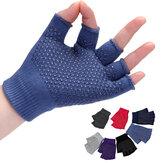 Damskie rękawiczki bez palców w sportowym stylu Fingerless Yoga