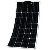 18V 100W panneau solaire semi-flexible Batterie chargeur connecteur léger de charge pour voiture de tente de cabine de bateau de RV