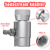 CO2 Cylinder 8mm Sodastream Adapter to TR21-4  Inflatable Connector with Filter
