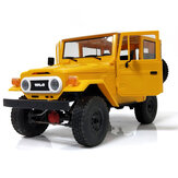 WPL C34 1/16 RTR 4WD 2.4G Kamionový pásový podvozek Off Road RC Car 2CH Vehicle Modely s Head Light Plast