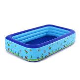 الأطفال نفخ بركة حوض الاستحمام سميكة فقاعة أسفل مقاومة للاهتراء الطفل الكبار المنزل تجديف بركة