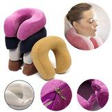 Poduszka piankowa w kształcie litery U Powolne odbijanie Poduszka piankowa w kształcie szyi Ochrona głowy Soft Poduszka