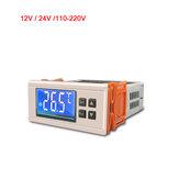 STC-8080A 12V / 24V / 110-220V Regolatore di temperatura digitale Sbrinamento a tempo automatico Funzione di allarme termostato intelligente