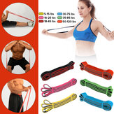 Resistance Bands Pull Up Assist Bands Fitness Stretching Strength Training Natural Latex Pilates Bands