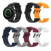 Bakeey 24mm Twill Silicone Smart Watch con cinturino di ricambio Banda per Sunnto 9